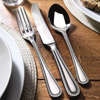 Bead stainless steel cutlery, Arthur Price