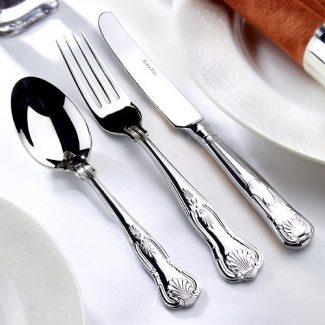 Kings stainless steel cutlery, Arthur Price