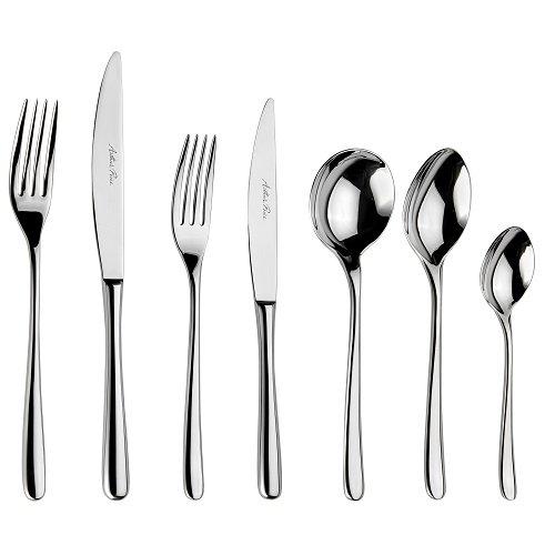 Warwick 7 piece stainless steel cutlery, Arthur Price