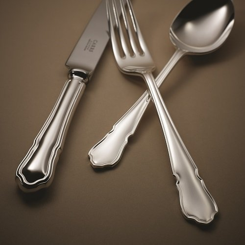 Carrs of Sheffield Dubarry Table knife table fork dessert spoon