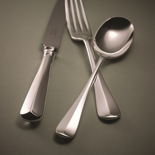 Carrs of Sheffield Rattail Cutlery table knife table fork dessert spoon