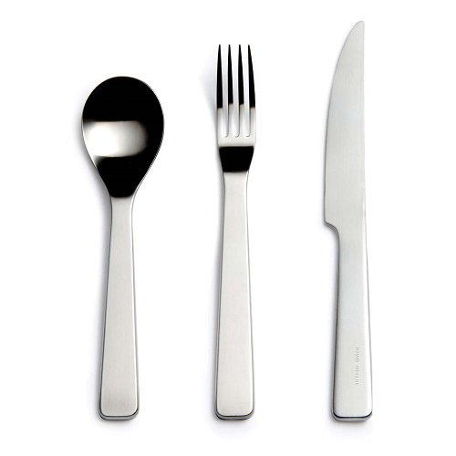 London stainless steel cutlery, David Mellor
