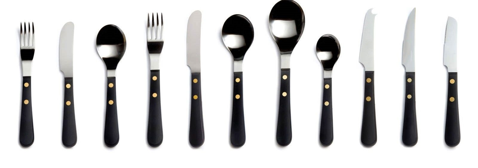 Provencal stainless steel cutlery, David Mellor