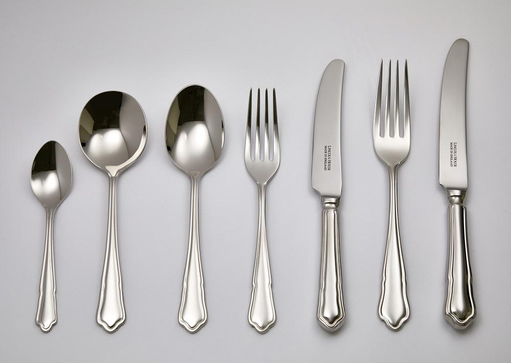 Stainless Steel Dubarry Dessert Spoon Made In Sheffield England