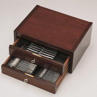 MAHOGANY Cutlery Cabinet, Robbe & Berking