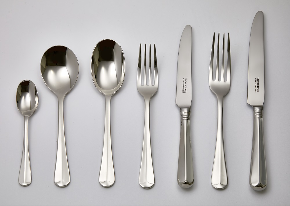 Rattail Silver Plate Cutlery Sheffield Lincoln House Cutlery