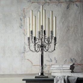 Candlesticks, candelabra