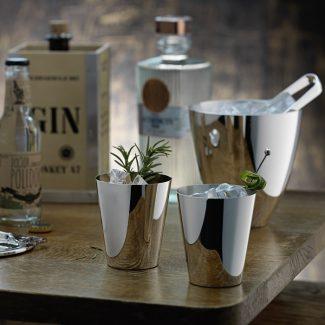 Dante Bar Kollektion Silver Gin Tumblers - Robbe & Berking