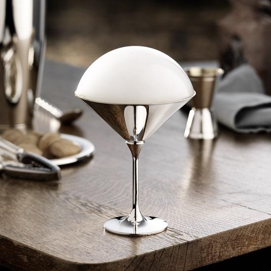 Dante Bar Kollektion Silver Cocktail Glasses - Robbe & Berking