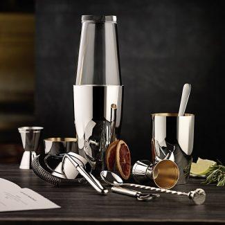 Dante Bar Kollektion Silver Cocktail Set - Robbe & Berking