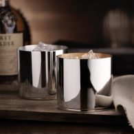 Dante Bar Kollektion Silver Whiskey Tumbler, Robbe & Berking