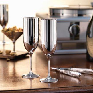 Belvedere Champagne Flutes, Robbe & Berking